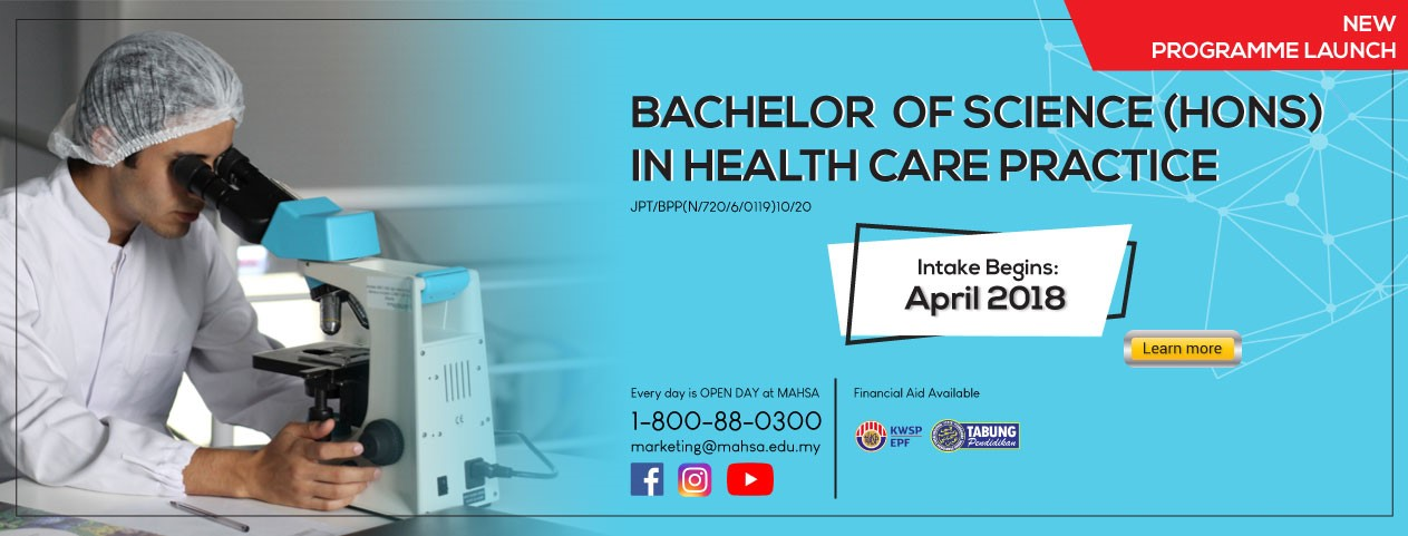 BACHELOR OF SCIENCE IN HEALTH CARE PRACTICE