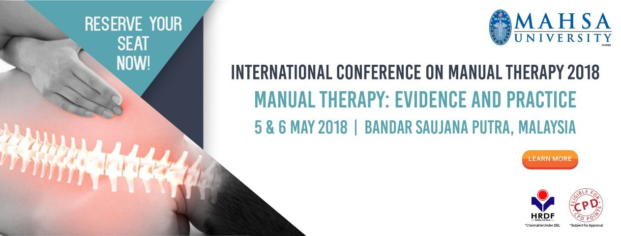 INTERNATIONAL CONFERENCE ON MANUAL THERAPY