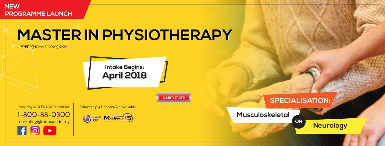 MASTER IN PHYSIOTHERAPY